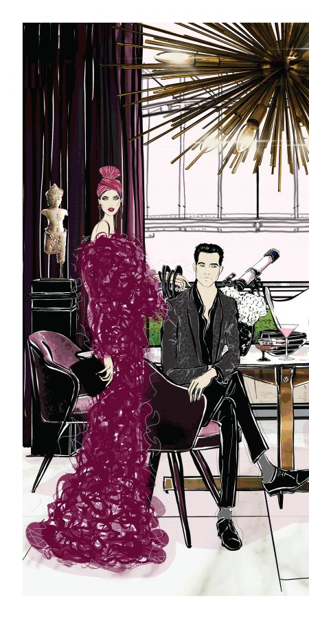 Sydney Soiree Fashion Illustration